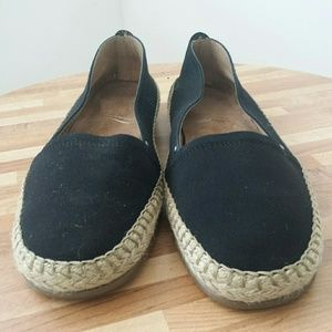 Black Casual Flat Shoes